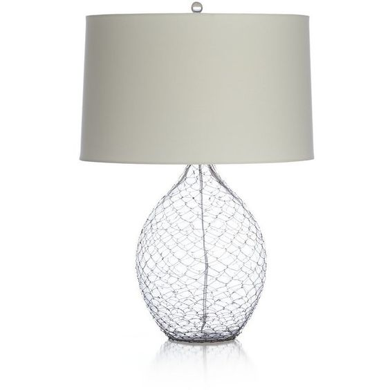 Crate & Barrel Gramercy Table Lamp (1.830 DKK) ❤ liked on Polyvore
