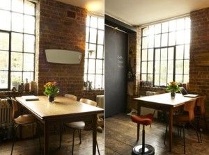 Exposed brick walls - how I LOVE thee