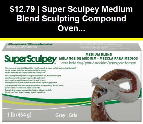 Sculpey Super Medium Clay Blend