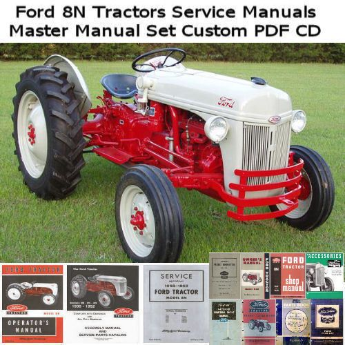 Pin On Ford 8 N Tractors
