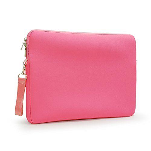 Lavievert Soft Neoprene(Water Resistance) Macbook Sleeve Simple and Elegant Laptop Case Notebook Bag Macbook Cover (Easy to Open & Close) for Apple 13 inch Macbook Retina Pro,13 inch Macbook Air, 13 inch Macbook Pro - Pink Lavievert http://www.amazon.com/dp/B00L3WJMTY/ref=cm_sw_r_pi_dp_i1SZtb16SJKDGX77