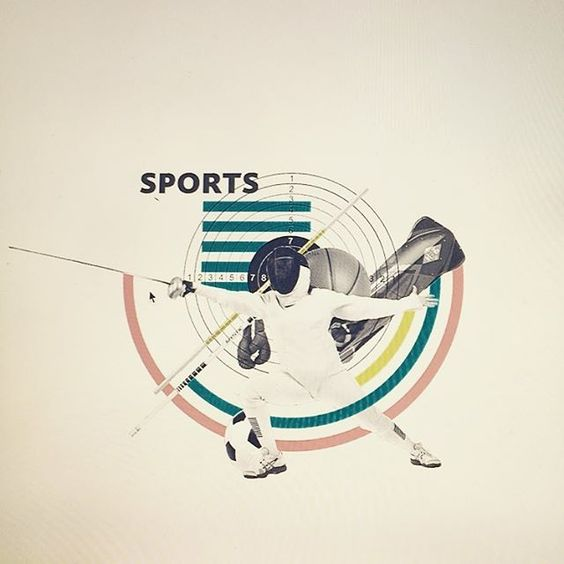 Go sports! New collage for SSU infographic in the making. #collage ...