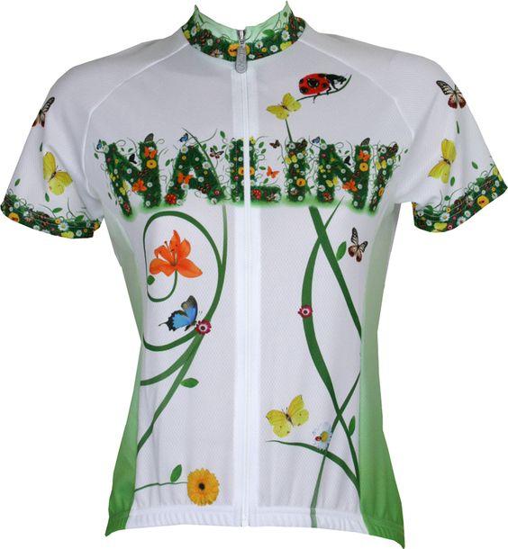 Nalini PRO Special KHESA lady short sleeve jersey white/green