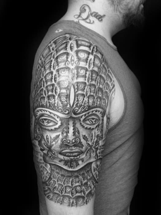60 Tool Tattoo Designs For Men Rock Band Ink Ideas In 2020 Tool Tattoo Tattoo Designs Men Tattoos