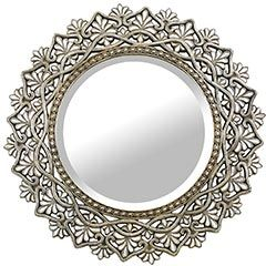 Round Shell Mirror from Pier1 Imports