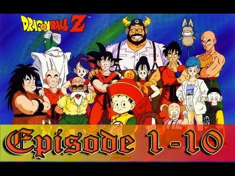 Dragon Ball Z Episode 1 10 Part 1 In Hindi With Images Dragon
