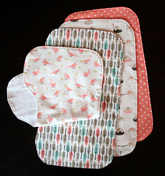 Wash Cloths As Burp Cloths: Make Your Own Burp Cloths... (for Some Reason, I Have A