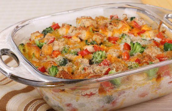 Chicken, broccoli and red pepper casserole (TNT) 49558fcaf840c72579bb702e8f2b5872