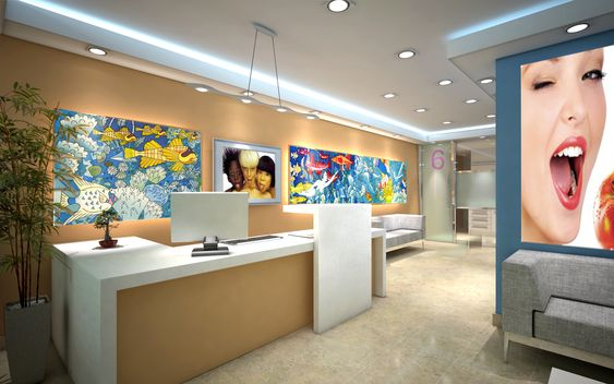 Dise o clinica dental clinica dental pinterest dental and dental office design - Decoracion clinica dental ...