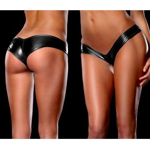 Latex string panties any color