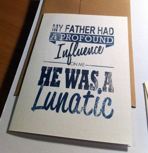 Father's Day is coming up this sunday, and i've had so many orders on myetsyshop for this card! Got one left but i'll put a few more up if you ask nicely ;)