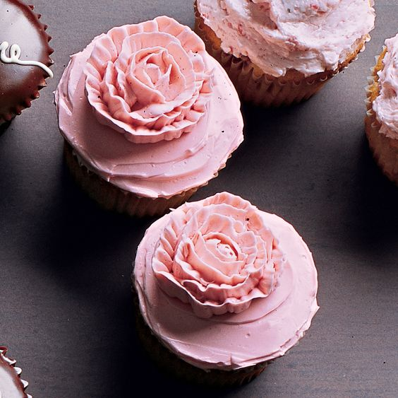 Classic yellow butter cupcakes got perfectly with a variety of frostings -- from Chocolate Ganache Glazes to our classic Seven-Minute Frosting.