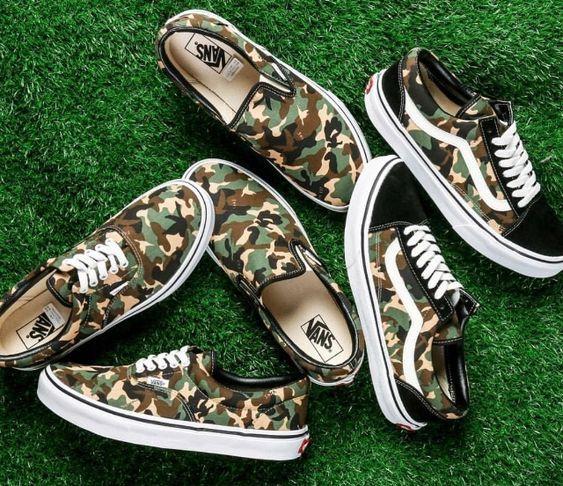 HugeDomains.com | Slip on tennis shoes, Camo shoes, Vans shoes