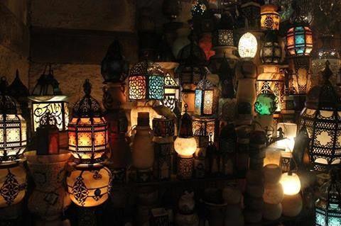 Lanternas turcas.
