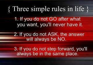 Follow these rules to a T.