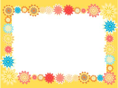 free digital scrapbooking flower frames – colorful flower frame png – Blumenrahmen png – Freebies | MeinLilaPark – digital freebies