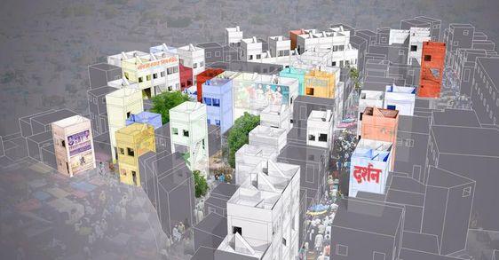 Entwickelt und erstmals erprobt haben Balestra und Göransson ihr Konzept gemeinsam mit Bewohnern der Siedlung Netaji Nagar in Pune.