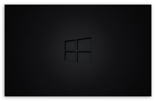 Windows 10 Black Hd Wallpaper For 4k Uhd Widescreen Desktop