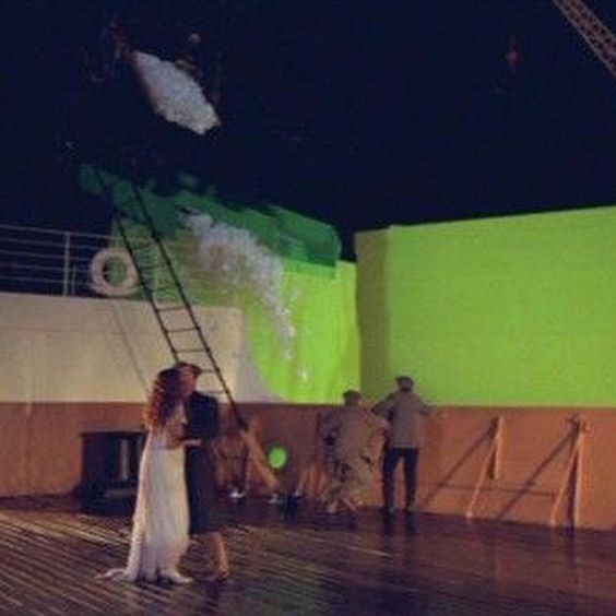 Titanic - behind the scenes.
