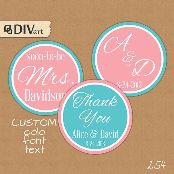 Wedding favor tags, Favor tags and Wedding favors on Pinterest