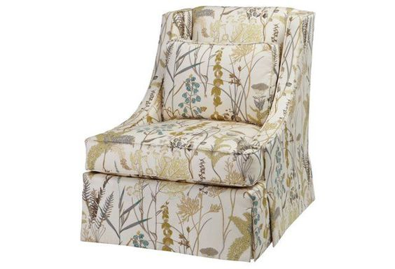 Cheryl Chair, Sage Floral
