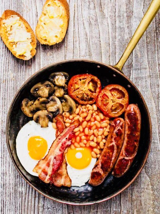 Desayuno Americano Y Sus Caracteristicas