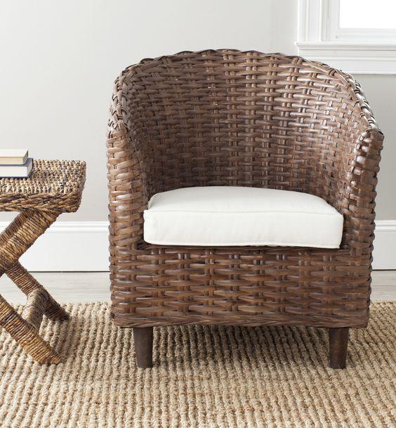 Omni Wicker Accent Chair