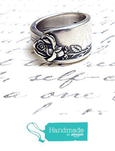 Vintage Silver Spoon Ring - circa 1955 from Cypress Studio http://www.amazon.com/dp/B017571Z5E/ref=hnd_sw_r_pi_dp_Gi.qwb0J9EREC #handmadeatamazon