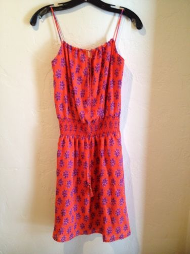 Red dress size 0 or 00