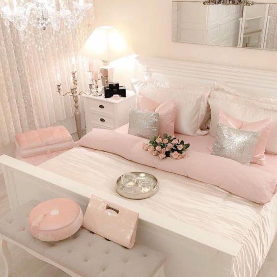 Cute Bedroom Ideas Cozy Bedroom Ideas Pink Bedroom Designs Bedroom For Girls Bedroomideas Bedroo Elegant Bedroom Design Bedroom Design New Bedroom Design