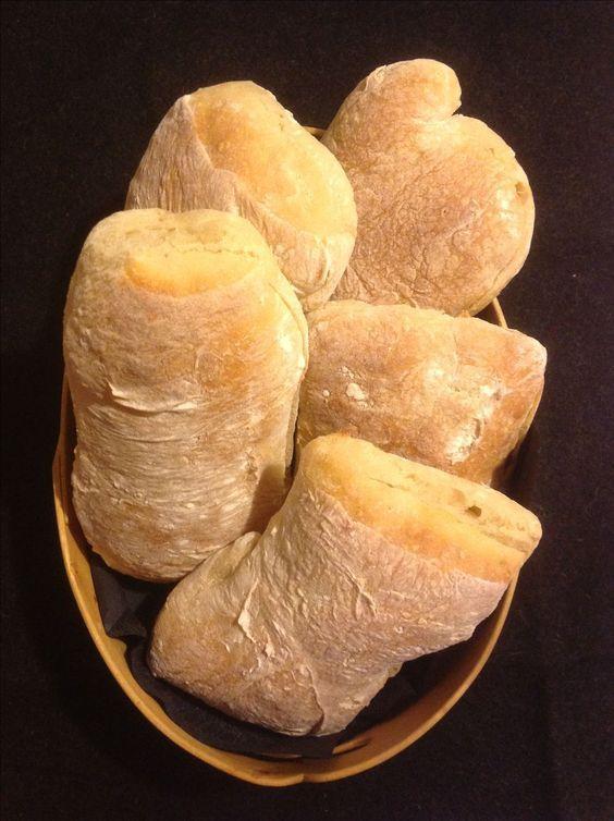 bröd med vatten