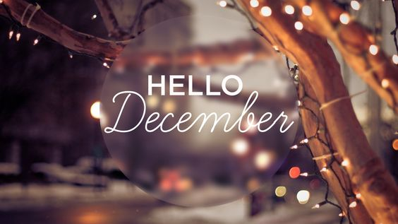 I do not love December because of the shopping frenzy. I do not love December because of the gifts I receive. I do not love December because of the parties I attend…….. I love December because its …