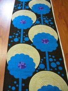 vintage fabric, 1970s - Tobi