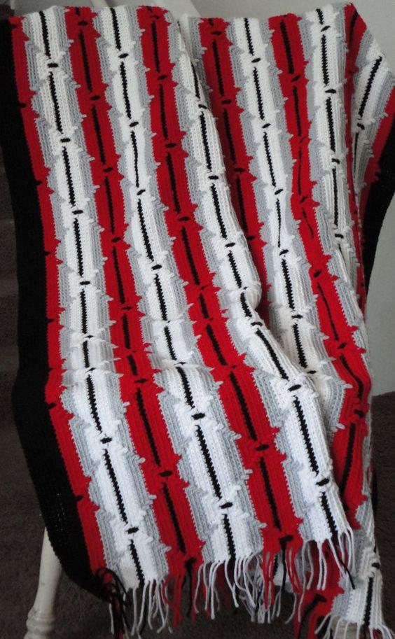 Crocheted Navajo Pattern CROCHET AFGHANS Pinterest ...