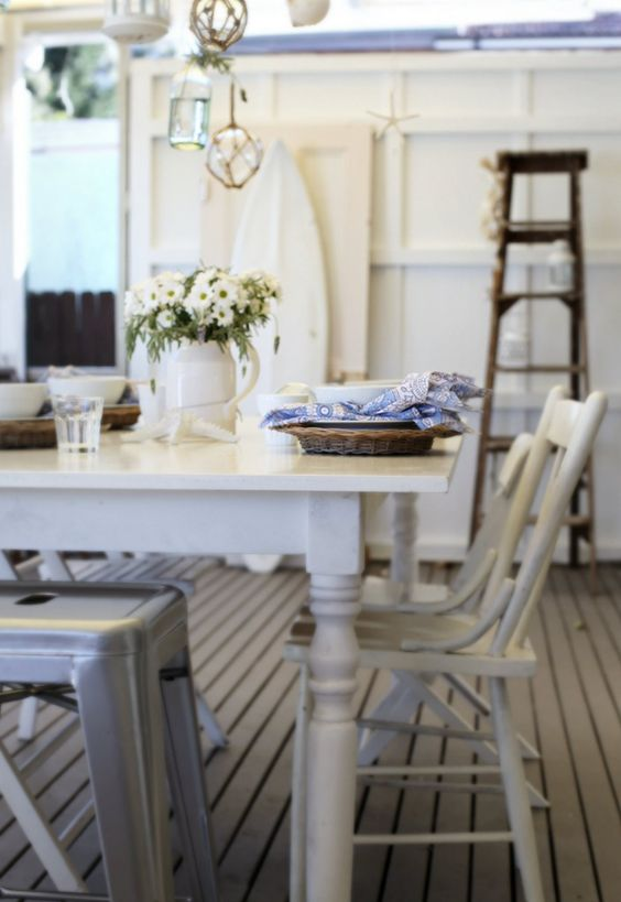 Coastal decor beach cottages and decorating ideas on for Beach coastal decorating ideas