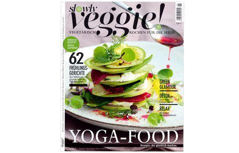 Neues Magazin - VEGGIE! – vegetarisch kochen für die Seele ... sieht lecker aus, werde ich mir mal anschauen.