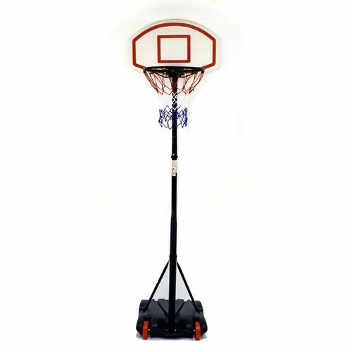 Fully Adjustable Free Standing Basketball Back Board Stand and Hoop Set