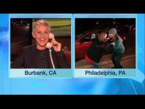 Ellen gives a Mom a grand new Chevy Cruze!