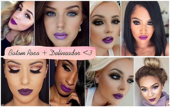 Purple Lipstick | Batom Roxo