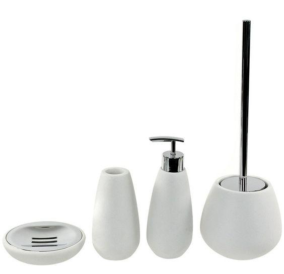 Opuntia 4 Piece Bathroom Accessory Set