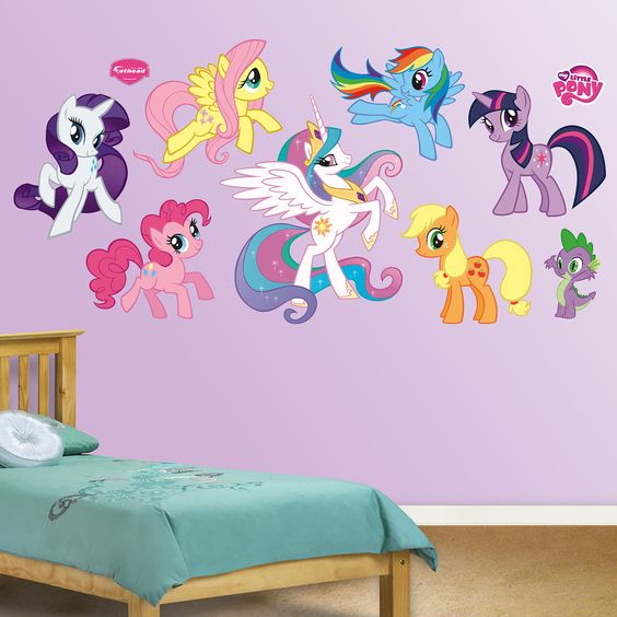 My Little Pony Collection wall decals from Fathead