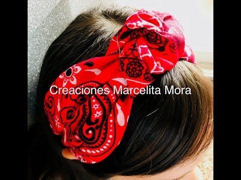 Diy Como Hacer Diadema Estilo Turbante Con Pañuelo Paleacate How To Make Turban Headband Youtube How To Make Turban Fascinator Diy Fashion