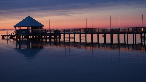 The peaceful, charming seaside town of Duck, NC, owns it namesake to the hordes of fowl that stop here during migration.