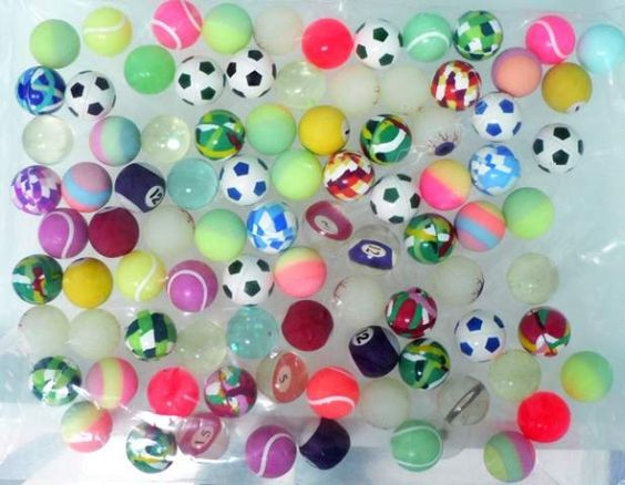 bouncy balls! Would go into a hallway close all the doors and let them go!