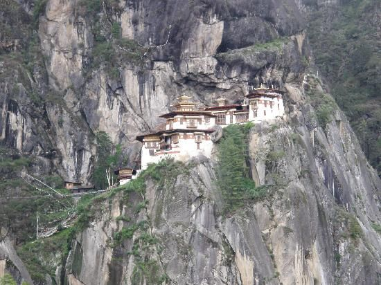 Tiger's Nest Resort in Bhutan