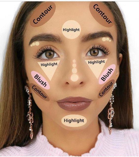 Tipps Zum Schminken Fur Anfanger Contour Makeup Makeup For Beginners Highlighter Makeup