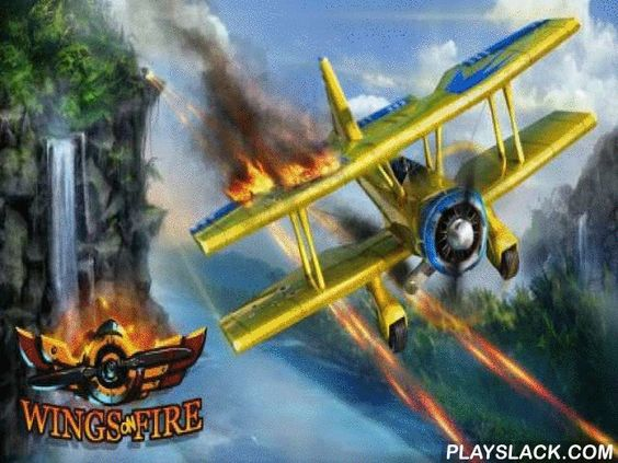 Wings On Fire  Android Game - playslack.com , Operate a warplane, bomb foe bases and combat to mighty bosses.
