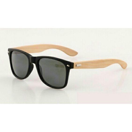 Óculos de bambu exclusivo e unissex