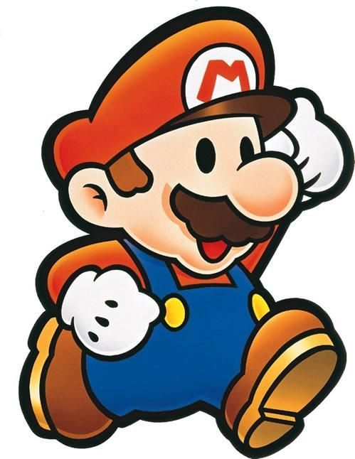 The Main Man Paper Mario From The Official Artwork Set For Papermario On The N64 Mario Rpg Visit For More Info Http Www Sup Mario Art Mario Mario Bros