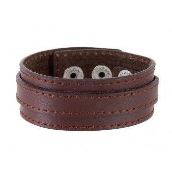 Stylish Leather Band Bracelet